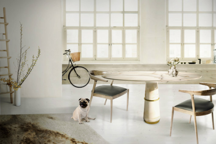 Top 5 Gorgeous White Marble Round Dining Tables home inspiration ideas