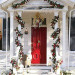 christmas front door decorations home inspiration ideas