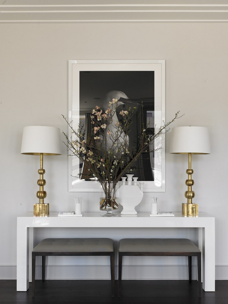 Contemporary console table - living room funiture  home inspiration ideas