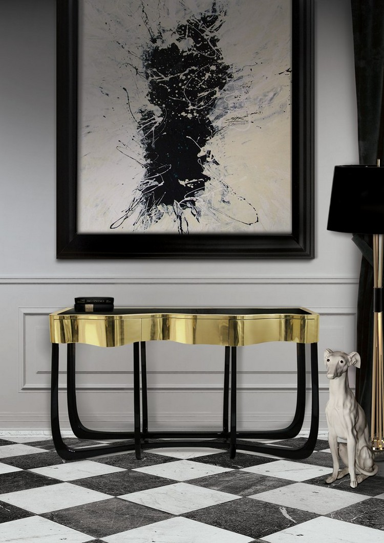 SINUOUS console table by Boca do Lobo home inspiration ideas