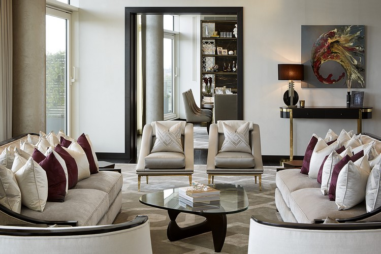 Interior Design Styles - luxury living room ideas by Morpheus London home inspiration ideas