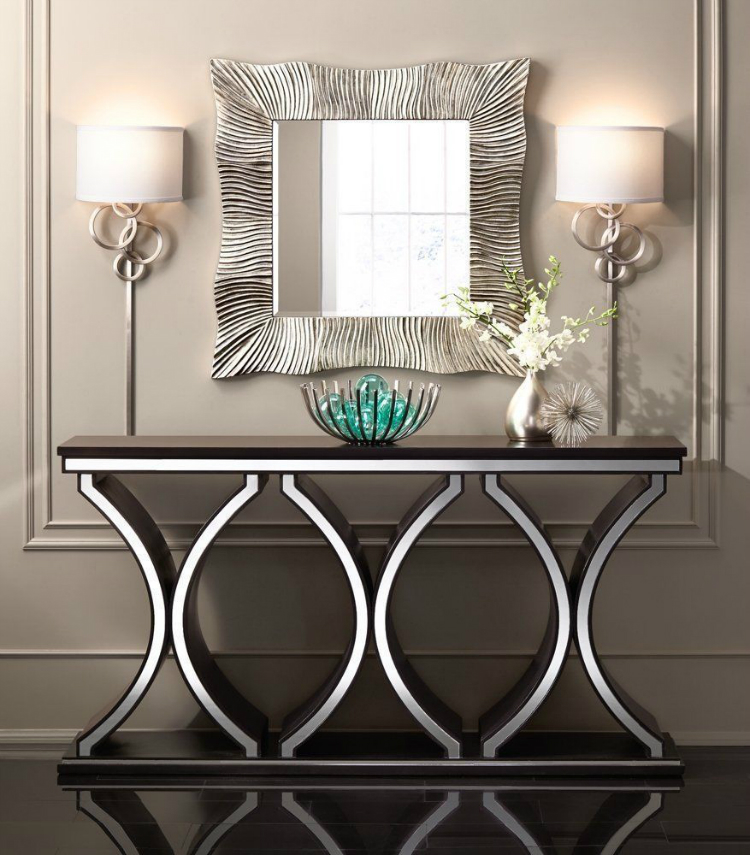 15 Contemporary Console Tables in Celebrities' Living Room Sets home inspiration ideas