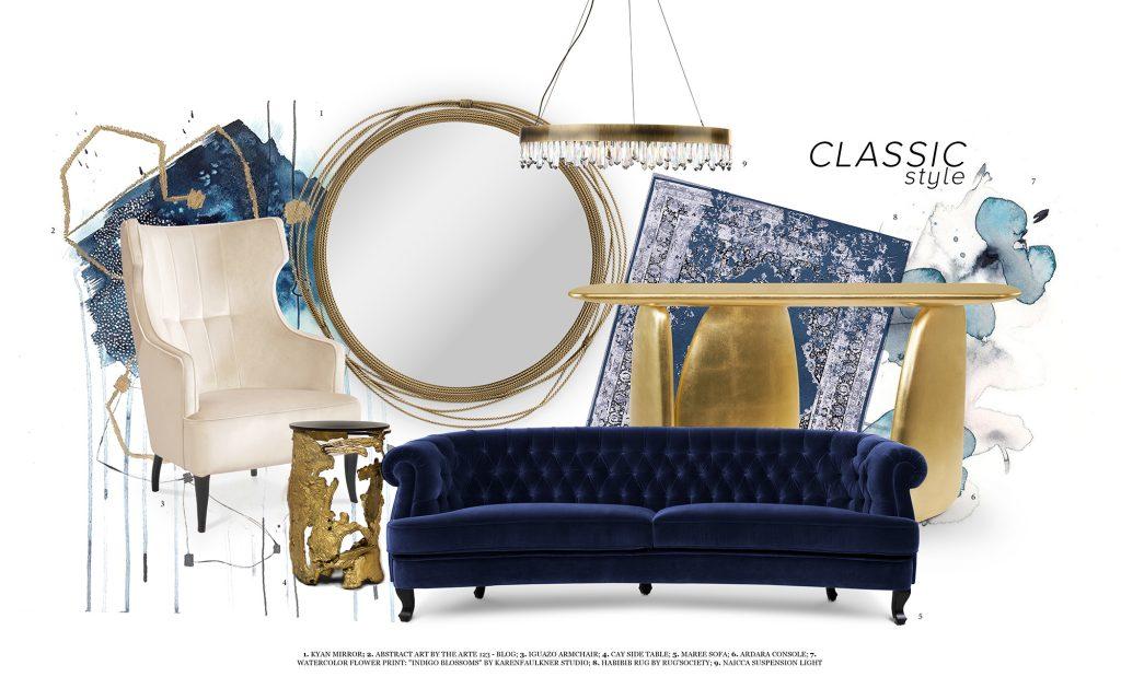 Classic Blue home inspiration ideas