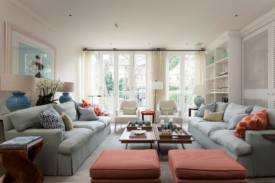 Melissa and Miller Interiors: Sophisticated High-End London House home inspiration ideas