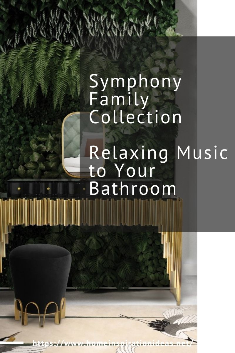 Symphony Family Collection - Relaxing Music to Your Bathroom home inspiration ideas