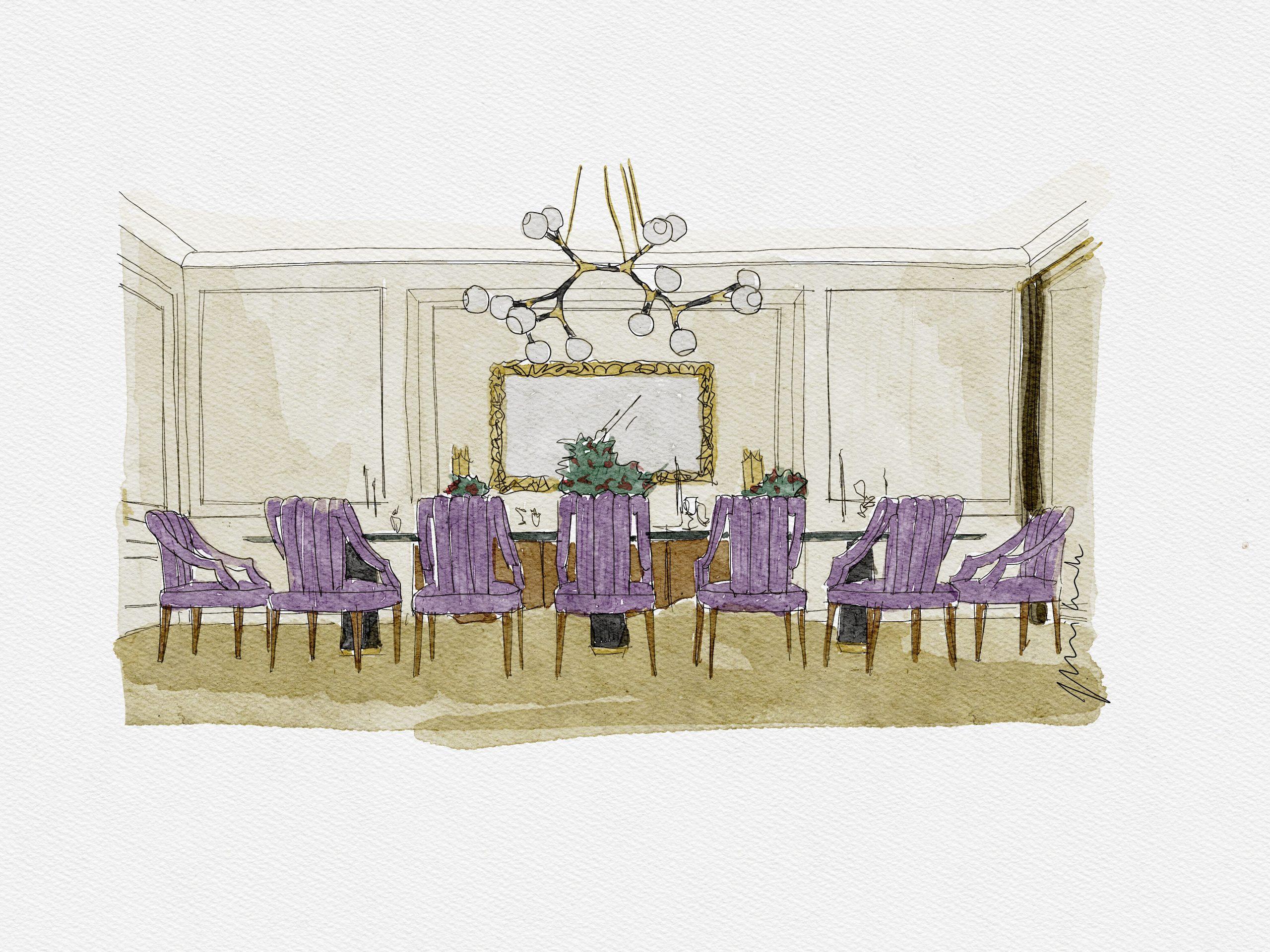 "A Contemporary Dining Room in Paris: Discover the ""Èternel"" Parisian Apartment home inspiration ideas"
