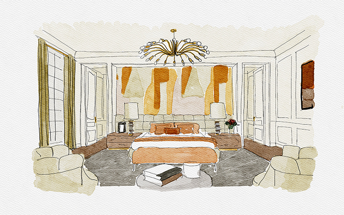Master Suite Decor Ideas : Refined Inspiration With Parisian Vibes home inspiration ideas