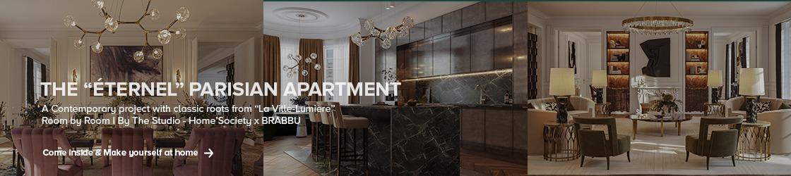 "The ""Éternal"" Parisian Apartment home inspiration ideas"