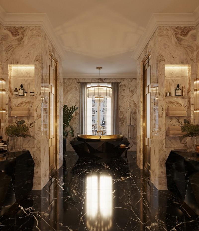 Diamond Bathroom - Interior Design Ideas For Your Bathroom home inspiration ideas