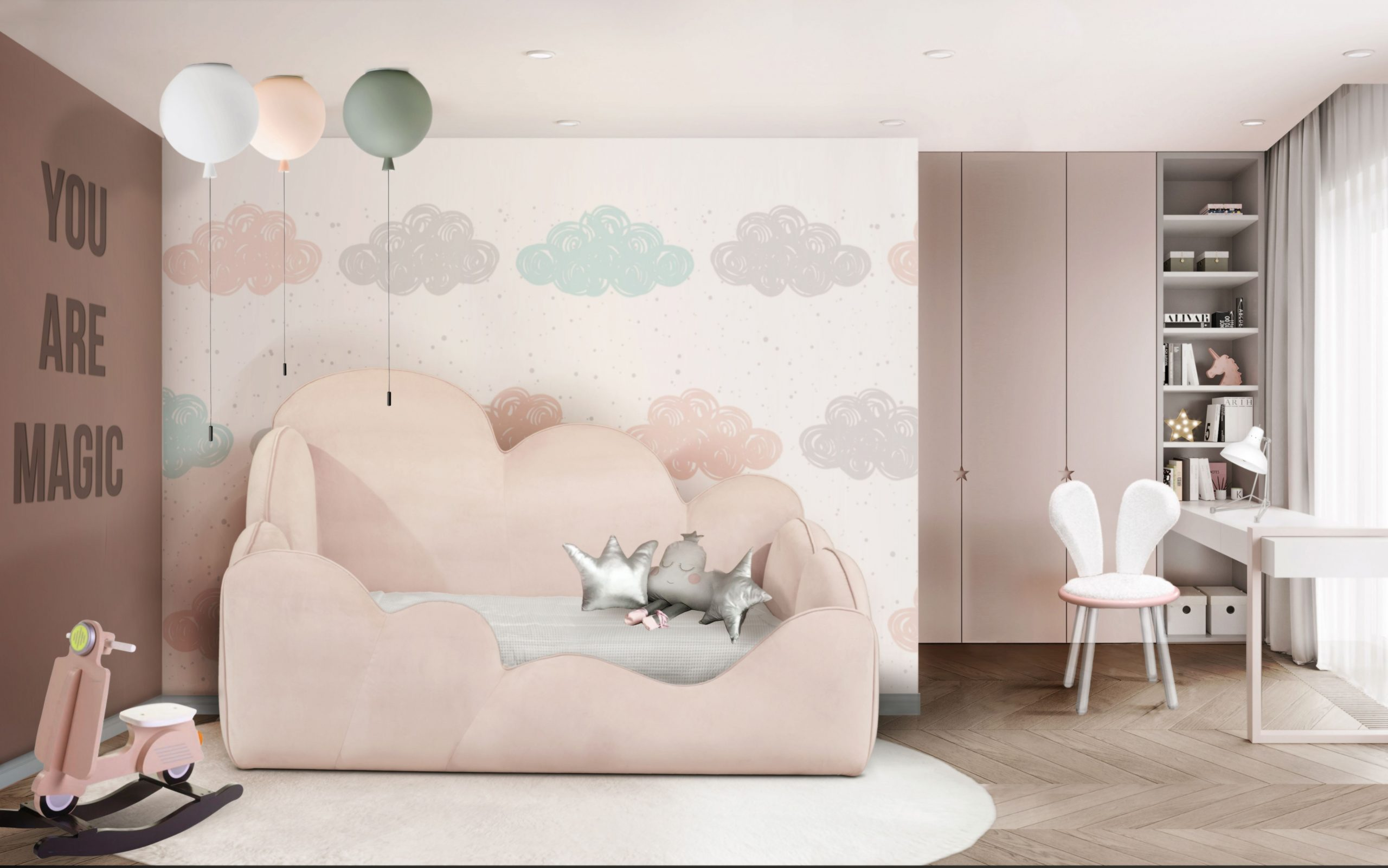 Kid's Bedroom Ideas, modern bedroom for kids, modern kid's bedroom design, kids bedroom home inspiration ideas